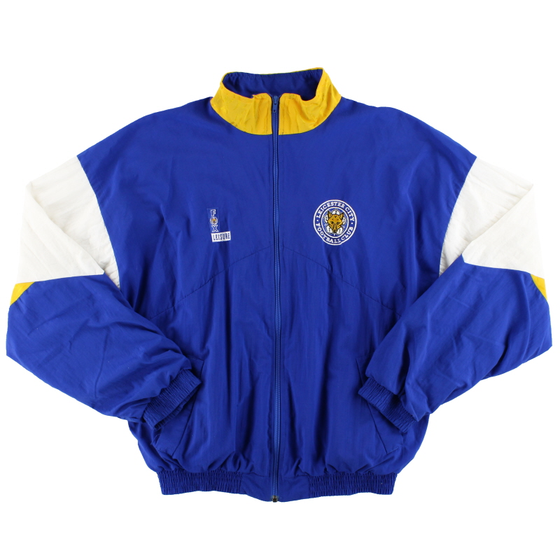 1992-94 Leicester Fox Leisure Track Jacket L