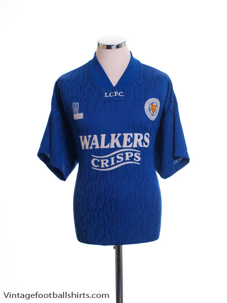 1992-94 Leicester Home Shirt *Mint* L