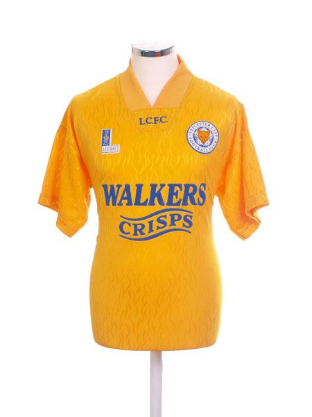 1992-94 Leicester Third Shirt M