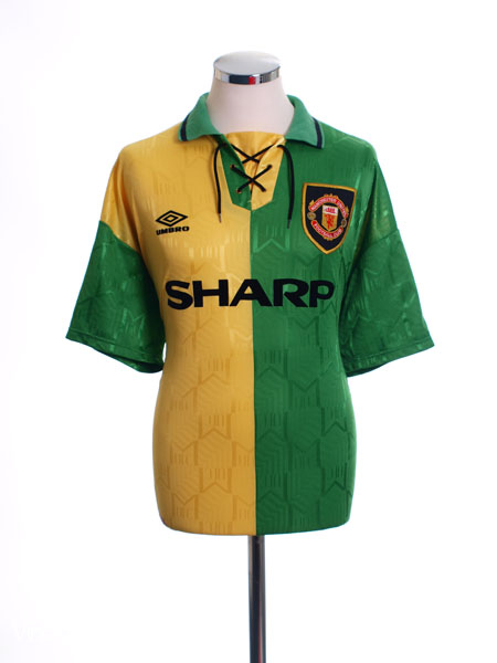 1992-94 Manchester United Newton Heath Third Shirt L
