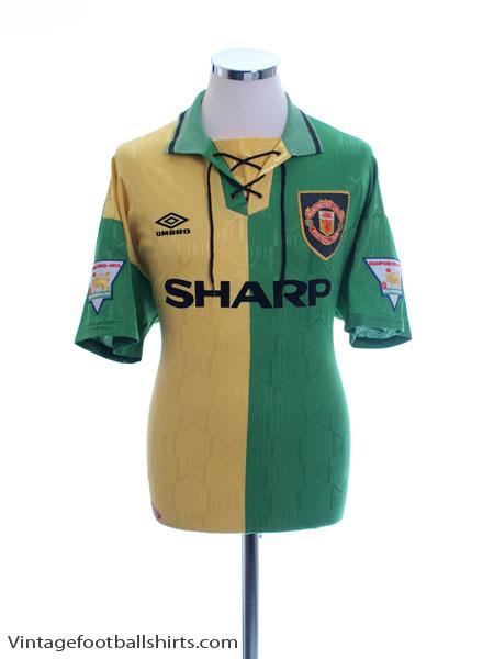 1992-94 Manchester United Newton Heath Third Shirt L