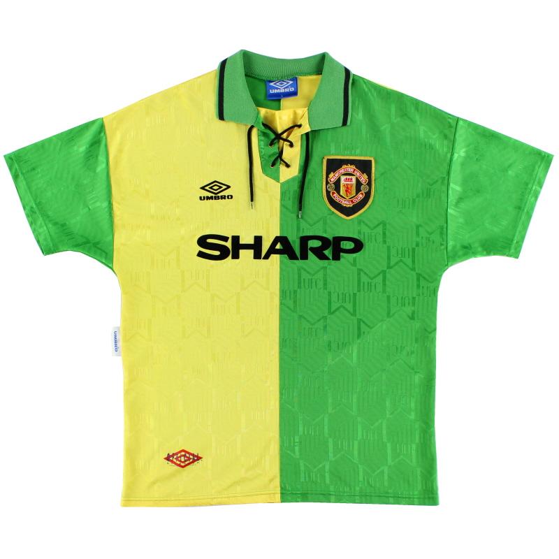 1992-94 Manchester United Newton Heath Third Shirt XXL