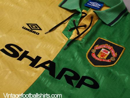 check out 0ed9c 85874 1992-94 Manchester United Newton Heath Third Shirt M for sale