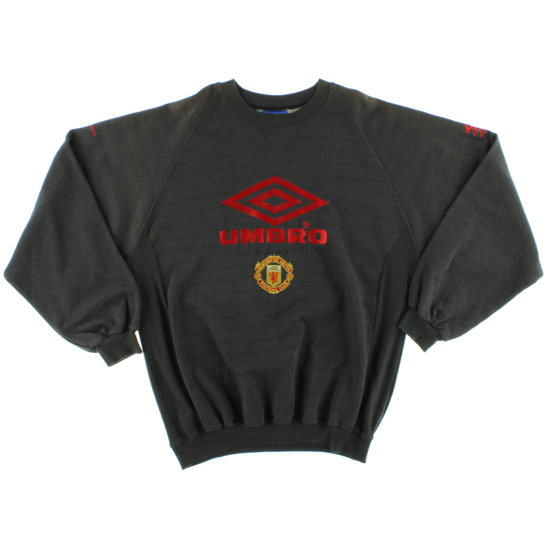 1992-94 Manchester United Umbro Training Jumper XL