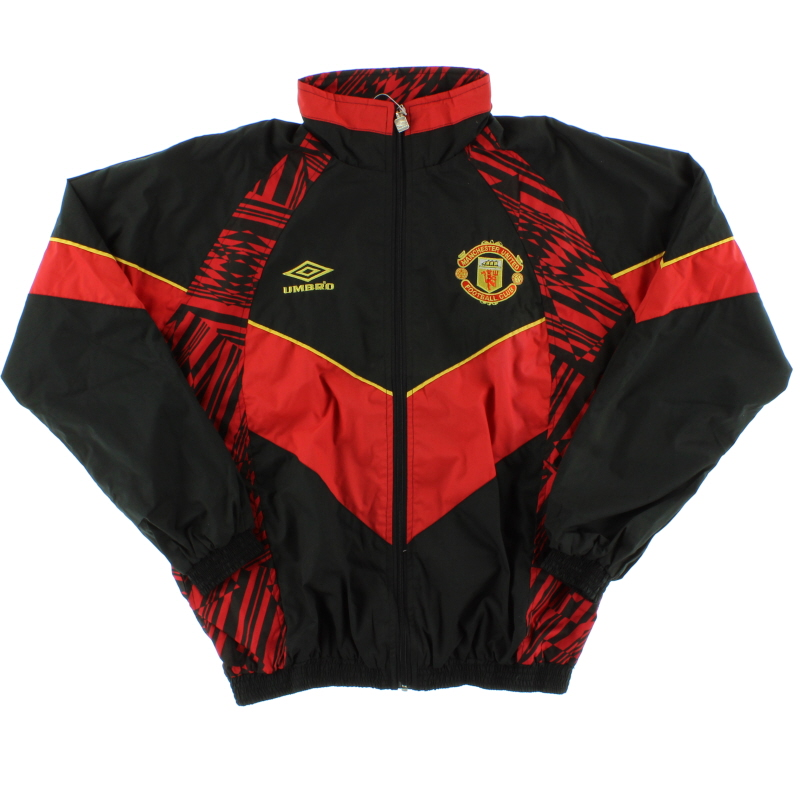 1992-94 Manchester United Umbro Track Jacket *As New* XL