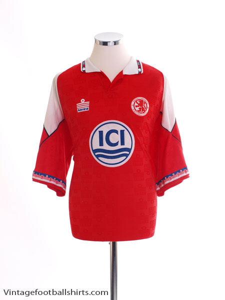 1992-94 Middlesbrough Home Shirt XL