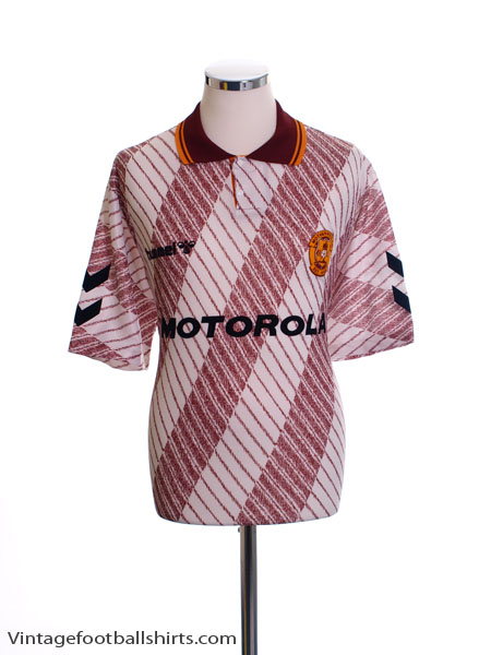 1992-94 Motherwell Away Shirt *Mint* Y