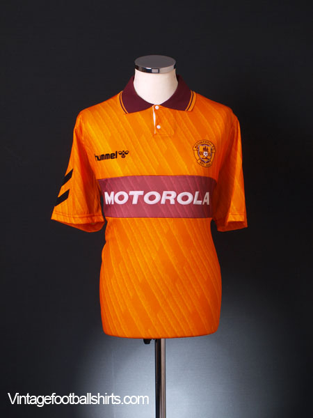 1992-94 Motherwell Home Shirt *As New* XL
