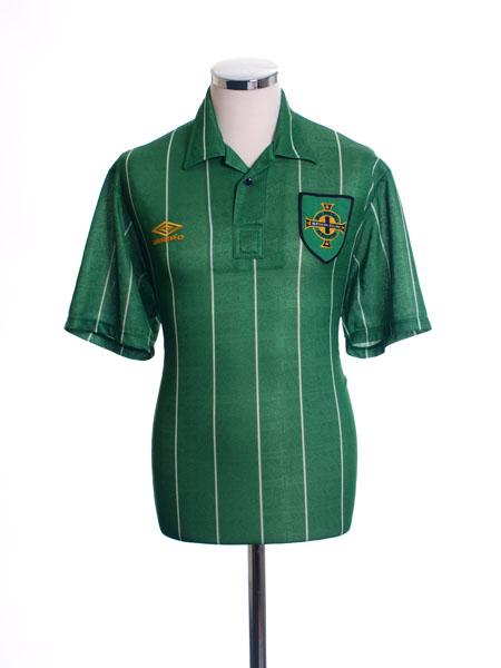 1992-94 Northern Ireland Home Shirt L