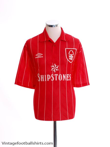 1992-94 Nottingham Forest Home Shirt *As New* XL