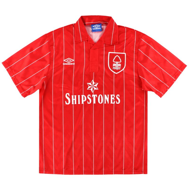 1992-94 Nottingham Forest Umbro Home Shirt *Mint* L