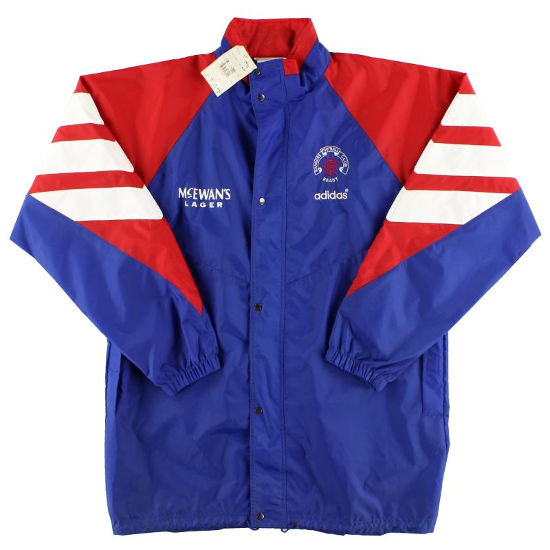 1992-94 Rangers adidas Rain Jacket *w/tags* L - 631117