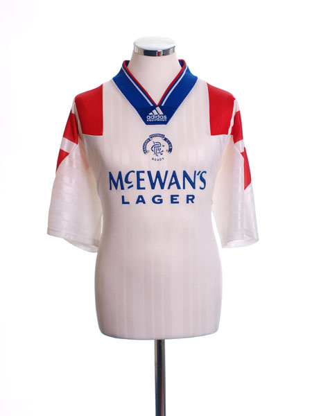 1992-94 Rangers Away Shirt XL