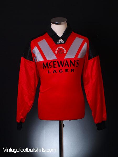 1992-94 Rangers Goalkeeper Shirt L
