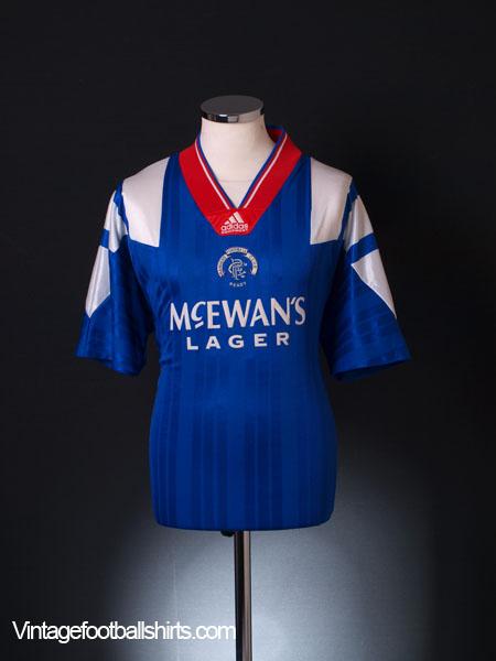1992-94 Rangers Home Shirt S