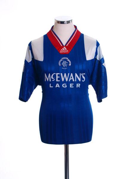 1992-94 Rangers Home Shirt Y
