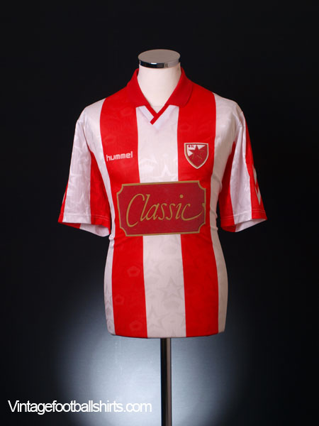 1992-94 Red Star Belgrade Home Shirt XL