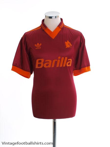 1992-94 Roma Home Shirt M