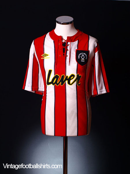 1992-94 Sheffield United Home Shirt XL