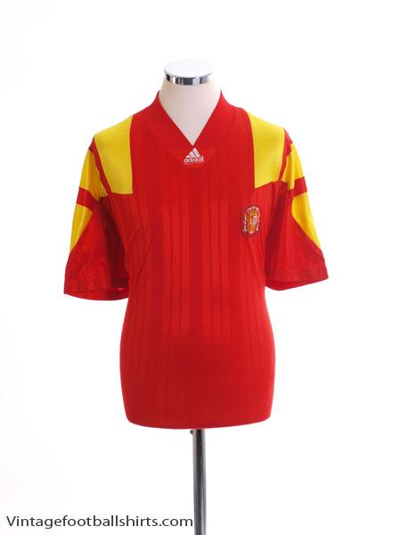 1992-94 Spain Home Shirt L