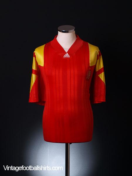 1992-94 Spain Home Shirt XL