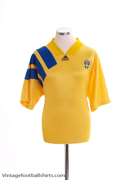 1992-94 Sweden Home Shirt S