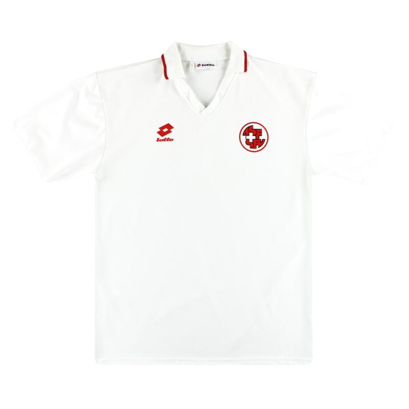 1992-94 Switzerland Lotto Away Shirt XL