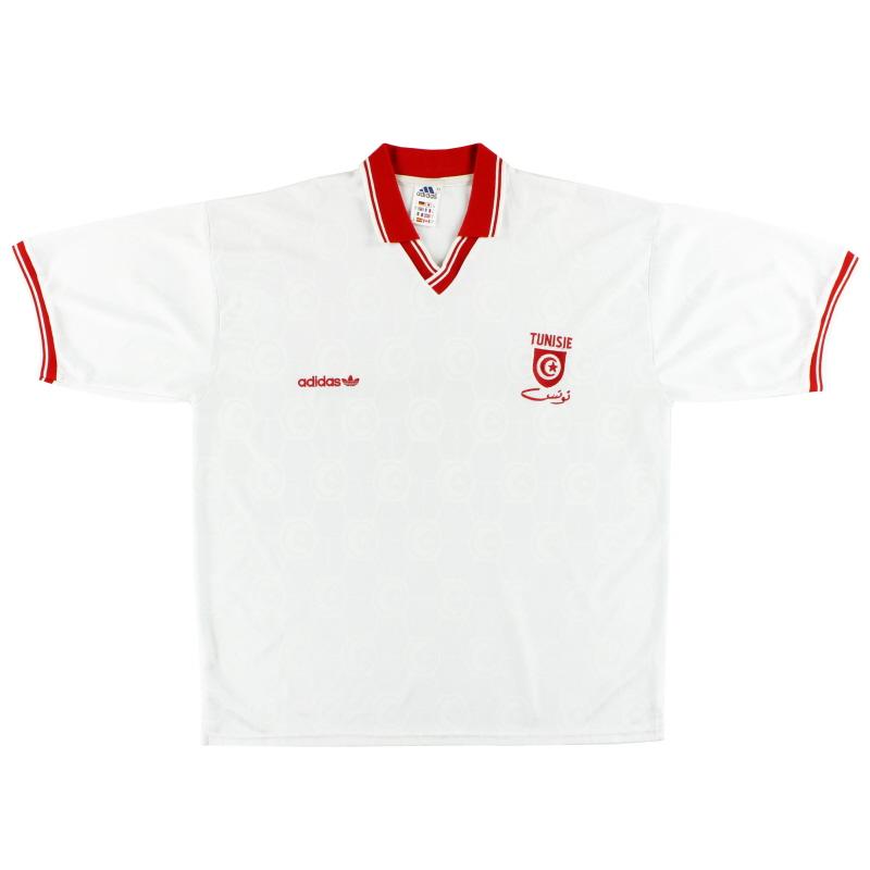 1992-94 Tunisia adidas Home Shirt XL