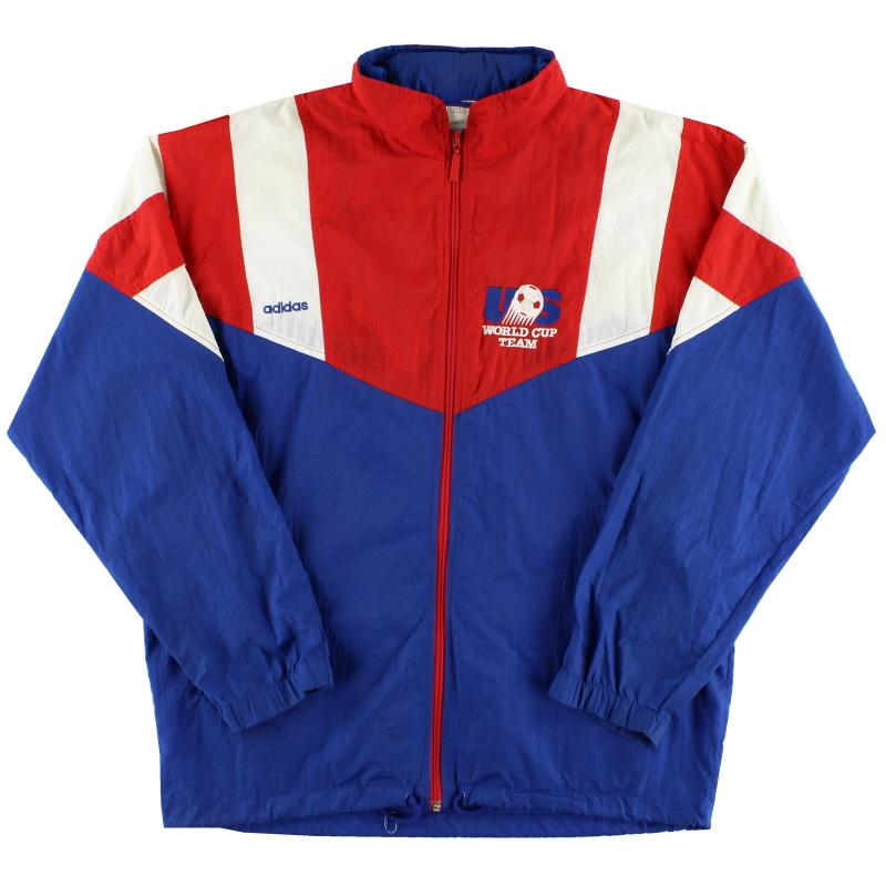 1992-94 USA adidas Shell Jacket M