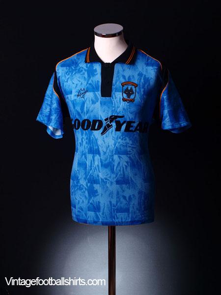 1992-94 Wolves Away Shirt L