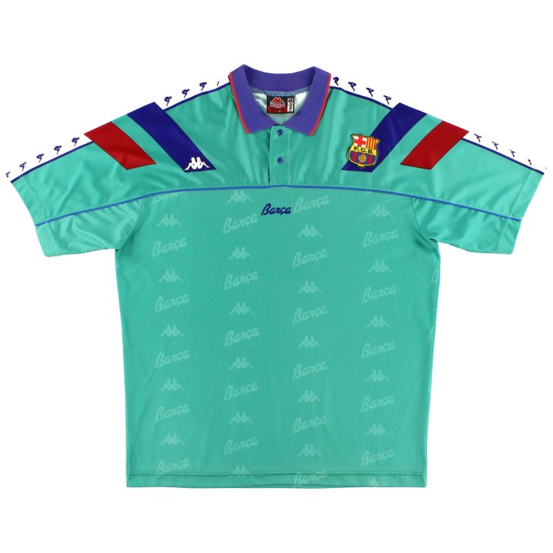 1992-95 Barcelona Away Shirt L