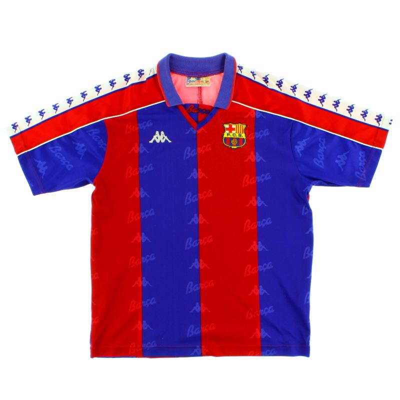 1992-95 Barcelona Home Shirt Womens 16