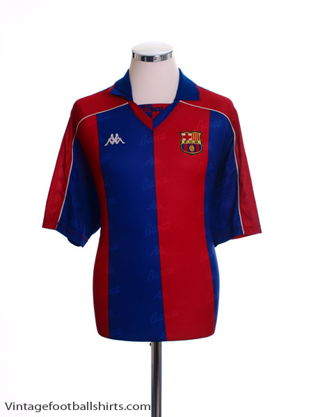 1992-95 Barcelona Home Shirt XL