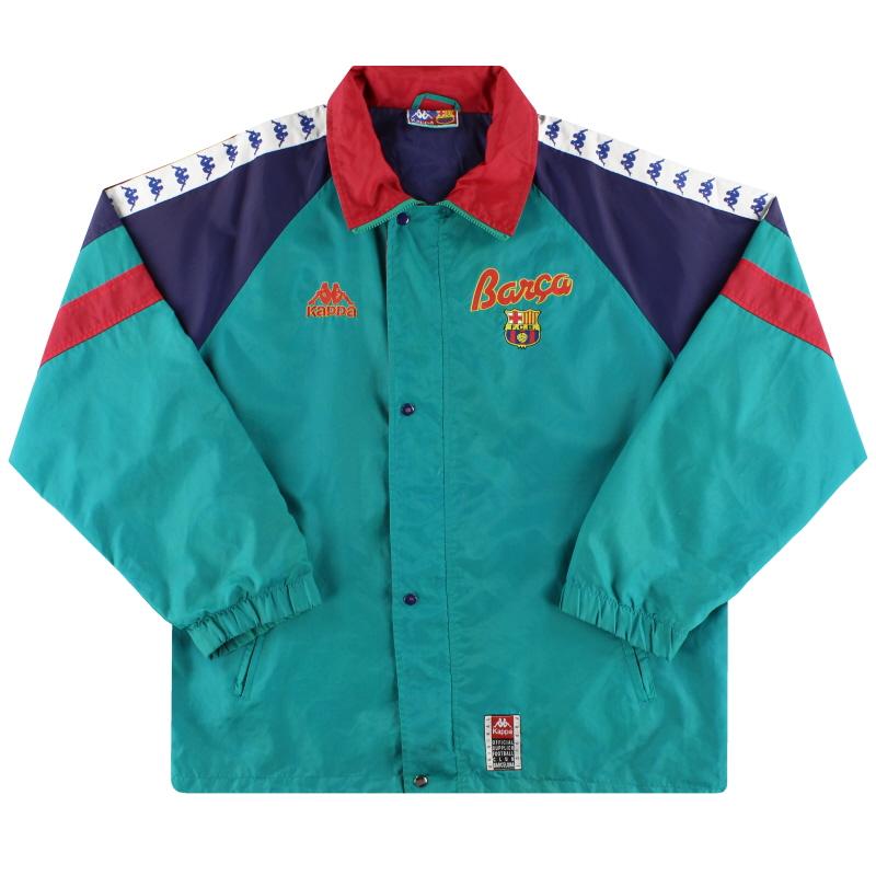 1992-95 Barcelona Kappa Bench Coat XL