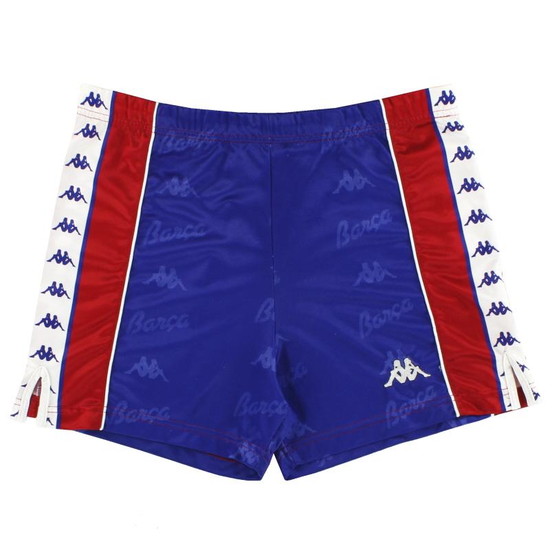 1992-95 Barcelona Kappa Home Shorts S
