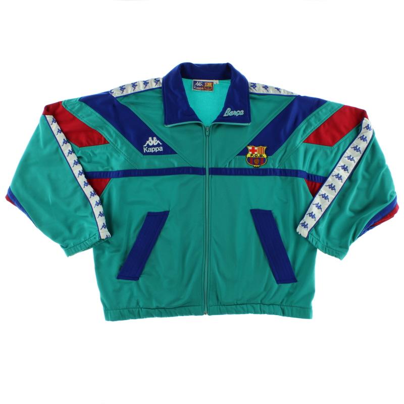 1992-95 Barcelona Kappa Track Jacket L