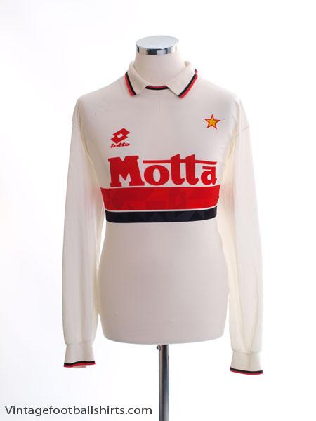 1993-94 AC Milan Away Shirt L/S XL