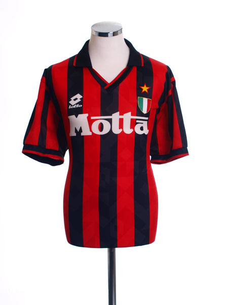 1993-94 AC Milan Home Shirt L