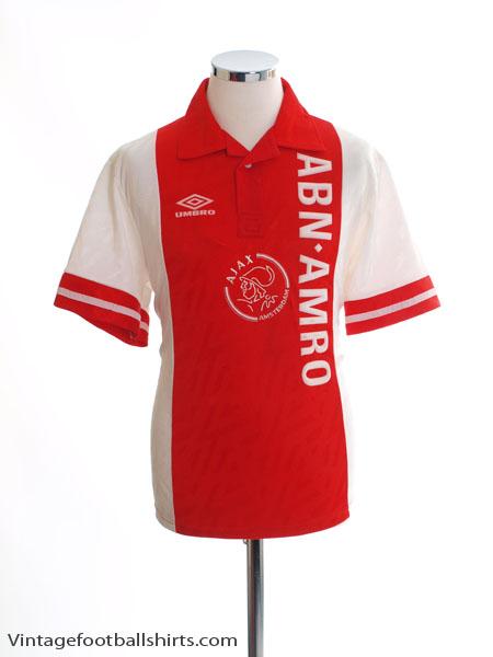 1993-94 Ajax Home Shirt S