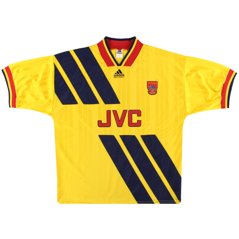 1993-94 Arsenal adidas Away Shirt *Mint* XS