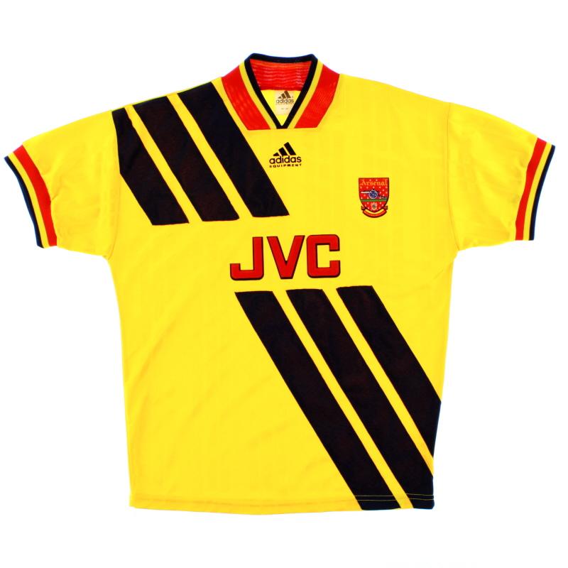 1993-94 Arsenal adidas Away Shirt L/XL