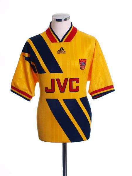 1993-94 Arsenal Away Shirt Y