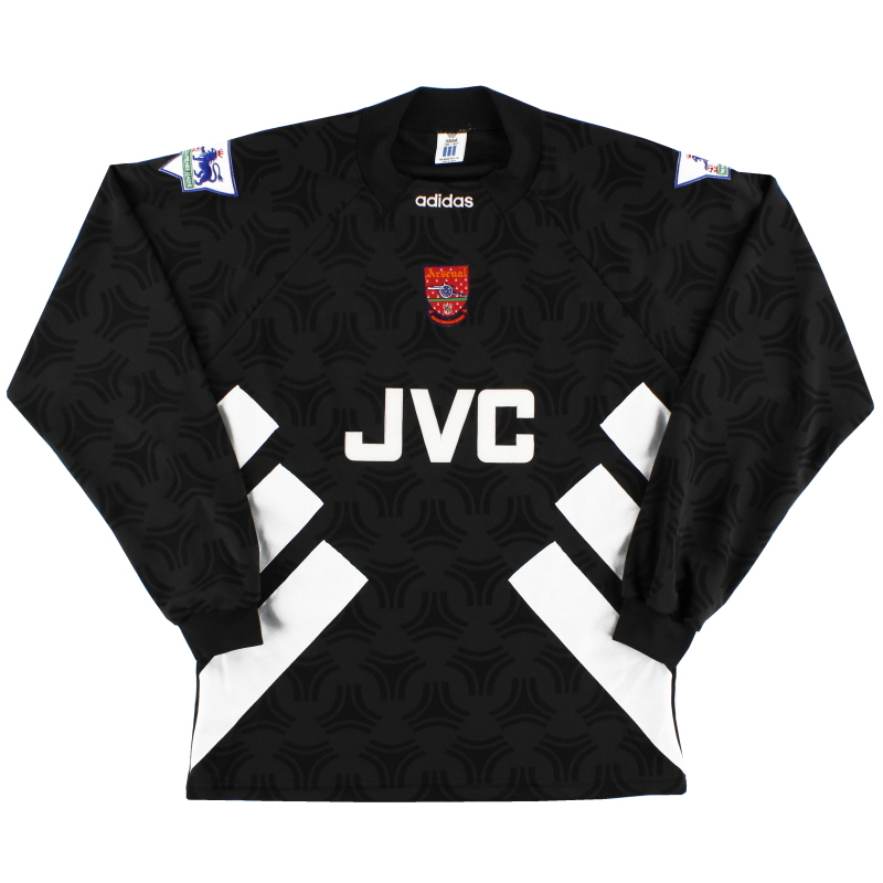 1993-94 Arsenal adidas Goalkeeper Shirt *Mint* M