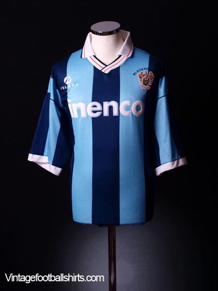1993-94 Blackpool Away Shirt M