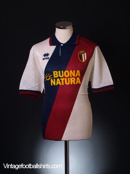 1993-94 Bologna Away Shirt XL