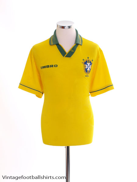 1993-94 Brazil Home Shirt XL