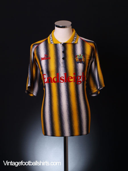 1993-94 Burnley 'Limited Edition' Away Shirt *Mint* L