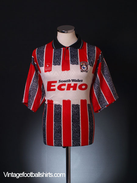 1993-94 Cardiff City Away Shirt M