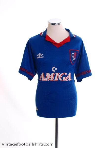 1993-94 Chelsea Home Shirt *Mint* L