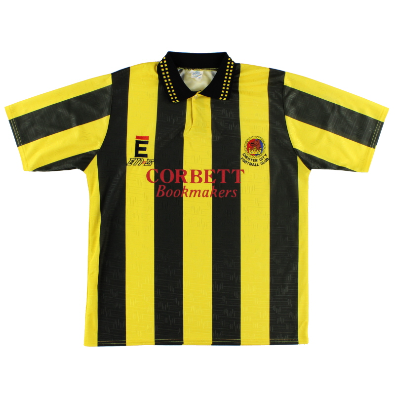 1993-94 Chester Away Shirt *Mint* L